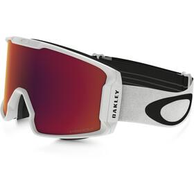 Oakley Line Miner Gafas de Nieve Hombre, matte white/w prizm torch iridium